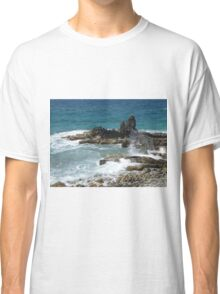 Caribbean coastal spray Classic T-Shirt