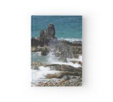 Caribbean coastal spray Hardcover Journal