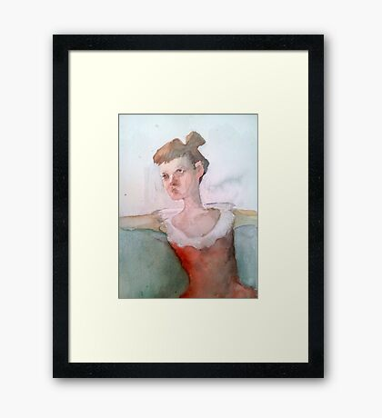 Good day caffee Framed Print
