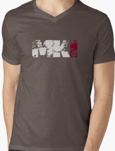 MKI (white) Mens V-Neck T-Shirt