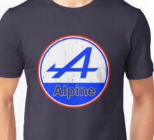 Alpine Cutout French Color Graphic Unisex T-Shirt