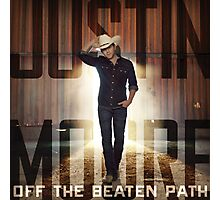 justin moore the beaten Photographic Print