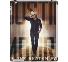 justin moore the beaten iPad Case/Skin