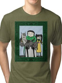 Portrait of a Happy Family Tri-blend T-Shirt