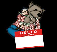 The Hello My Name is Lufsig by hongkong
