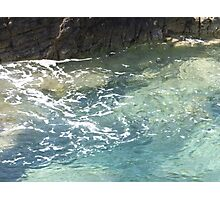 Transluscent natural pool Photographic Print