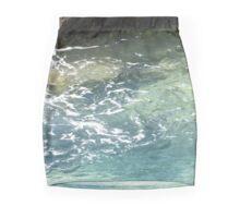 Transluscent natural pool Mini Skirt