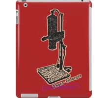 vintage enlarger iPad Case/Skin