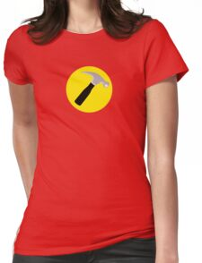 Captain Hammer Womens Fitted T-Shirt