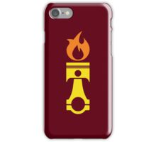 Flaming Piston (fire) iPhone Case/Skin
