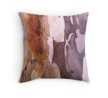 Leopard Tree Bark Cushion ,Throw Pillow  Throw Pillow