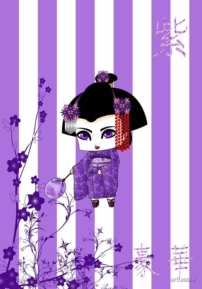 Chibi Lady Murasaki by artwaste