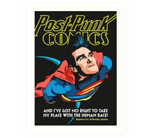 Post-Punk Comics | Super Mouth Strikes Again Art Print