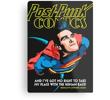 Post-Punk Comics | Super Mouth Strikes Again Metal Print