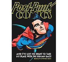 Post-Punk Comics | Super Mouth Strikes Again Photographic Print