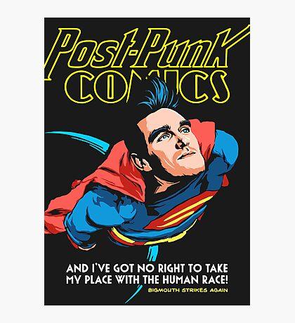 Post-Punk Comics | Super Mouth Strikes Again Photographic Print