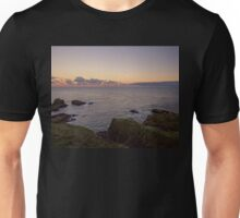 Sunset on Cruden Bay, Slains Castle - North East coast of Aberdeenshire, Scotland Unisex T-Shirt