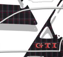 GTI Tartan  Sticker