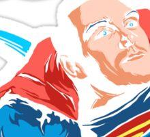 Post-Punk Comics | Super Mouth Strikes Again Sticker