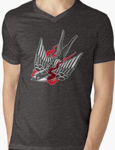 Stipple swallow Mens V-Neck T-Shirt