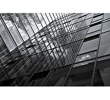 mirror facade wall Photographic Print
