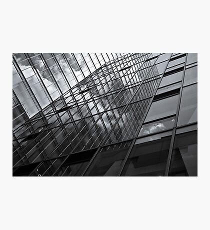 mirror facade wall Photographic Print