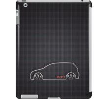 GTI Tartan  iPad Case/Skin