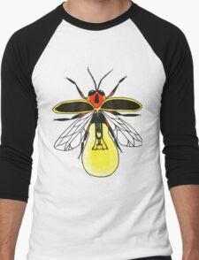 Lighting Bug Men's Baseball ¾ T-Shirt