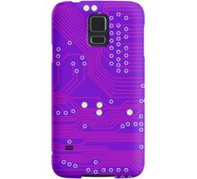 Pink Circuit Board Samsung Galaxy Case/Skin