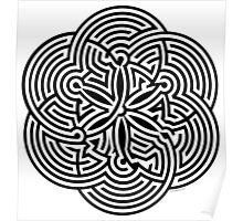 Modern Maze - brain game | Laberinto moderno - juego mental Poster