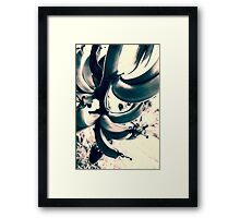 Banana Flowers Framed Print
