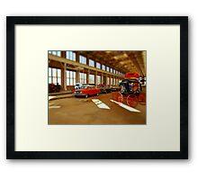 Time and Transportation Framed Print