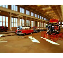 Time and Transportation Photographic Print