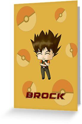 Chibi Brock by artwaste