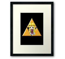 Chibi Zelda Framed Print