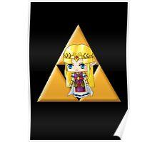 Chibi Zelda Poster