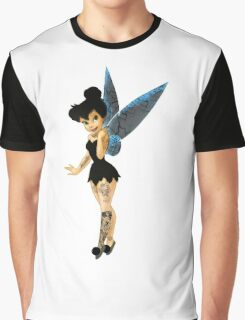 Dark Tinkerbell  Graphic T-Shirt