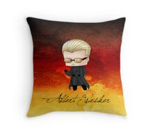 Chibi Wesker alt. Throw Pillow