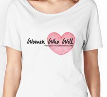 Women Who Will Heart Women's Relaxed Fit T-Shirt