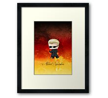 Chibi Wesker Framed Print