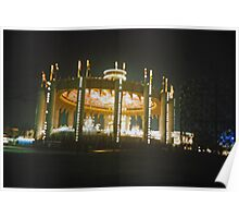 New York State Pavilion Evening Poster