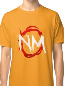 NmO Logo (Red & White) (WORKS BEST WITH BLACK) Classic T-Shirt