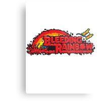 Bleeding Rainbow Metal Print