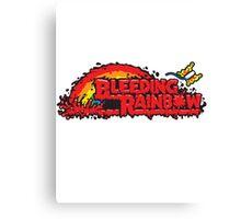 Bleeding Rainbow Canvas Print