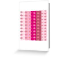 Pink Bubbles Greeting Card