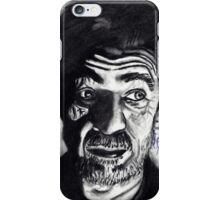 Old man in the dark  iPhone Case/Skin