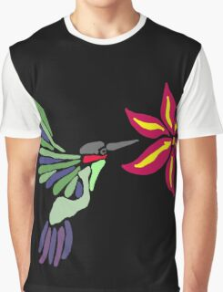 Artistic Cool Hummingbird Art Graphic T-Shirt