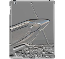 Spitfire Mk 1A aircraft embossed iPad Case/Skin