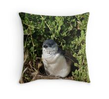 Little Penguin, Phillip Island Throw Pillow