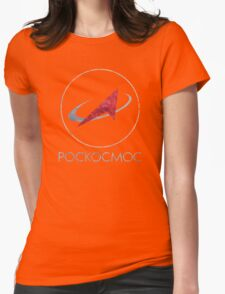 POCKOCKMOC Russian Space Agency Womens Fitted T-Shirt